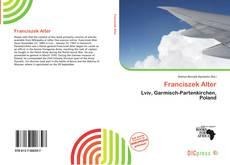 Franciszek Alter kitap kapağı