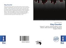 Bookcover of Gay Courter