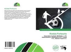 Capa do livro de Kostas Fortounis