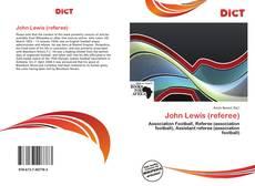Capa do livro de John Lewis (referee)