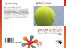 Buchcover von 2005 Dutch Open (Tennis)