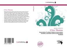 Capa do livro de Clive Thomas