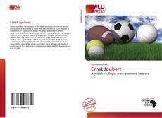 Buchcover von Ernst Joubert