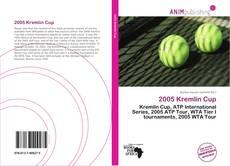 Bookcover of 2005 Kremlin Cup