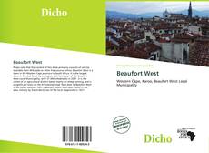 Bookcover of Beaufort West