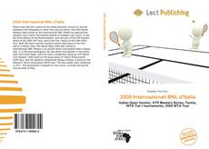 Обложка 2005 Internazionali BNL d'Italia