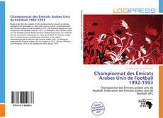 Buchcover von Championnat des Émirats Arabes Unis de Football 1992-1993