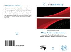 Portada del libro de Mike McCurry (referee)