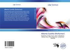 Capa do livro de Alberto Castillo (Performer)