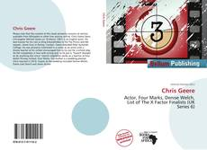 Bookcover of Chris Geere
