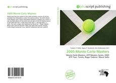 Bookcover of 2005 Monte Carlo Masters