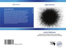 Capa do livro de Leslie Mottram