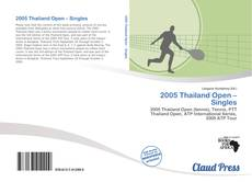 Bookcover of 2005 Thailand Open – Singles
