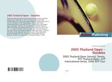 Bookcover of 2005 Thailand Open – Doubles