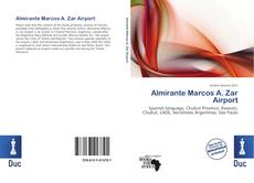 Portada del libro de Almirante Marcos A. Zar Airport