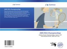Bookcover of 2005 RCA Championships