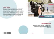 Bookcover of David Easter