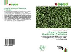 Portada del libro de Eduardo Acevedo (Guatemalan Footballer)