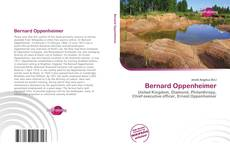 Bookcover of Bernard Oppenheimer