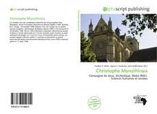 Buchcover von Christophe Munzihirwa