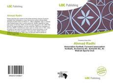 Capa do livro de Ahmad Radhi
