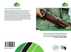 Accuracy International kitap kapağı
