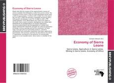 Copertina di Economy of Sierra Leone