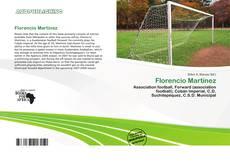Bookcover of Florencio Martínez