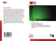 Bookcover of Fowler Report