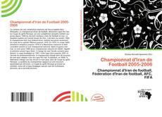 Championnat d'Iran de Football 2005-2006 kitap kapağı