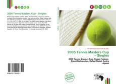 Bookcover of 2005 Tennis Masters Cup – Singles