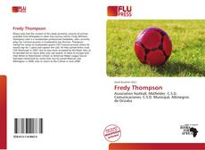 Portada del libro de Fredy Thompson