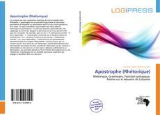 Couverture de Apostrophe (Rhétorique)