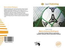 Portada del libro de Marco Antonio Rodríguez