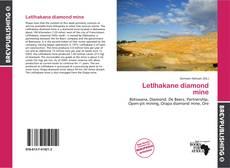 Bookcover of Letlhakane diamond mine