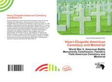 Henri-Chapelle American Cemetery and Memorial kitap kapağı