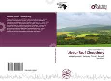 Bookcover of Abdur Rouf Choudhury