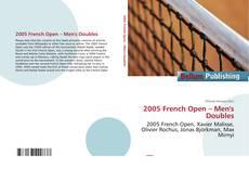 Borítókép a  2005 French Open – Men's Doubles - hoz