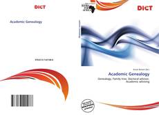 Bookcover of Academic Genealogy