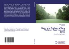 Bookcover of Study and Analysis of Raw Water of Reservoir and Lakes