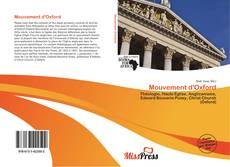 Capa do livro de Mouvement d'Oxford