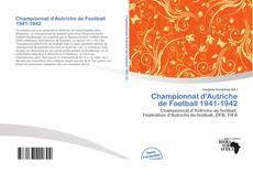 Bookcover of Championnat d'Autriche de Football 1941-1942