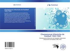 Bookcover of Championnat d'Autriche de Football 1943-1944