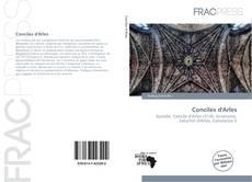 Capa do livro de Conciles d'Arles
