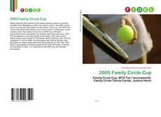 Bookcover of 2005 Family Circle Cup