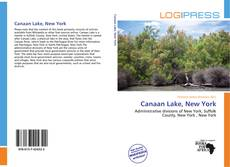 Bookcover of Canaan Lake, New York