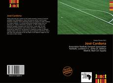 Capa do livro de José Cardona