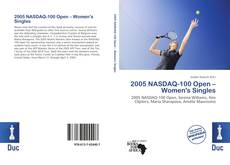 Bookcover of 2005 NASDAQ-100 Open – Women's Singles