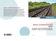 Capa do livro de Adrian and Blissfield Rail Road