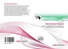 Henneicke Column kitap kapağı